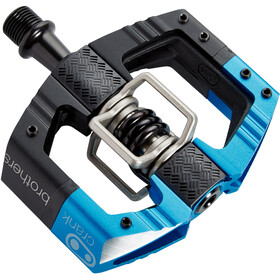 Crankbrothers Mallet Enduro LS Pédales Essieu long, black/electric blue